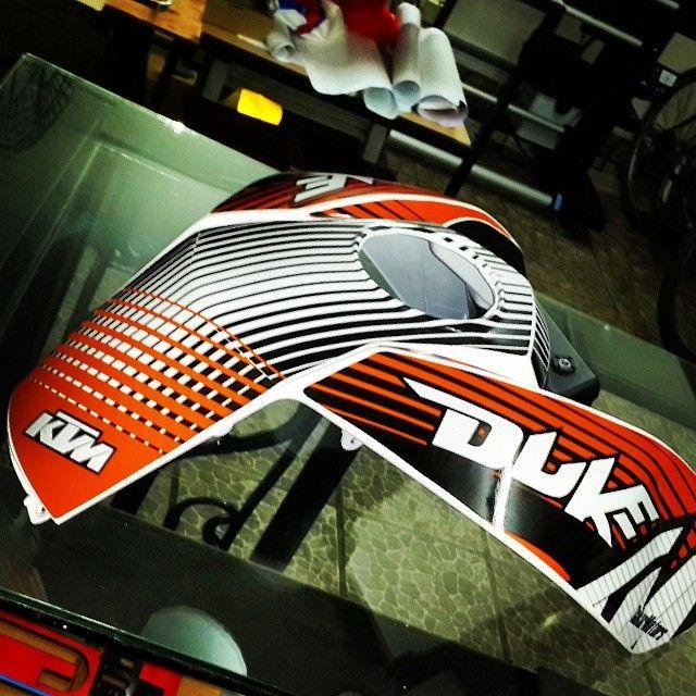 #diseño #ktm #duke #ploteo #vinilo