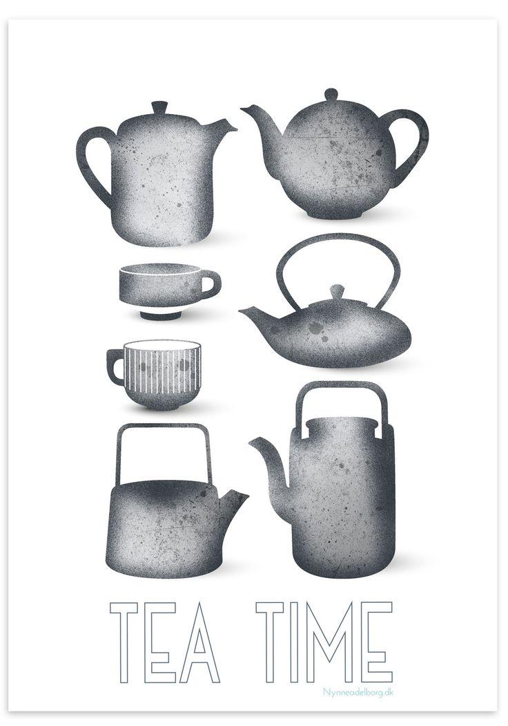 Tea time, A3 plakat