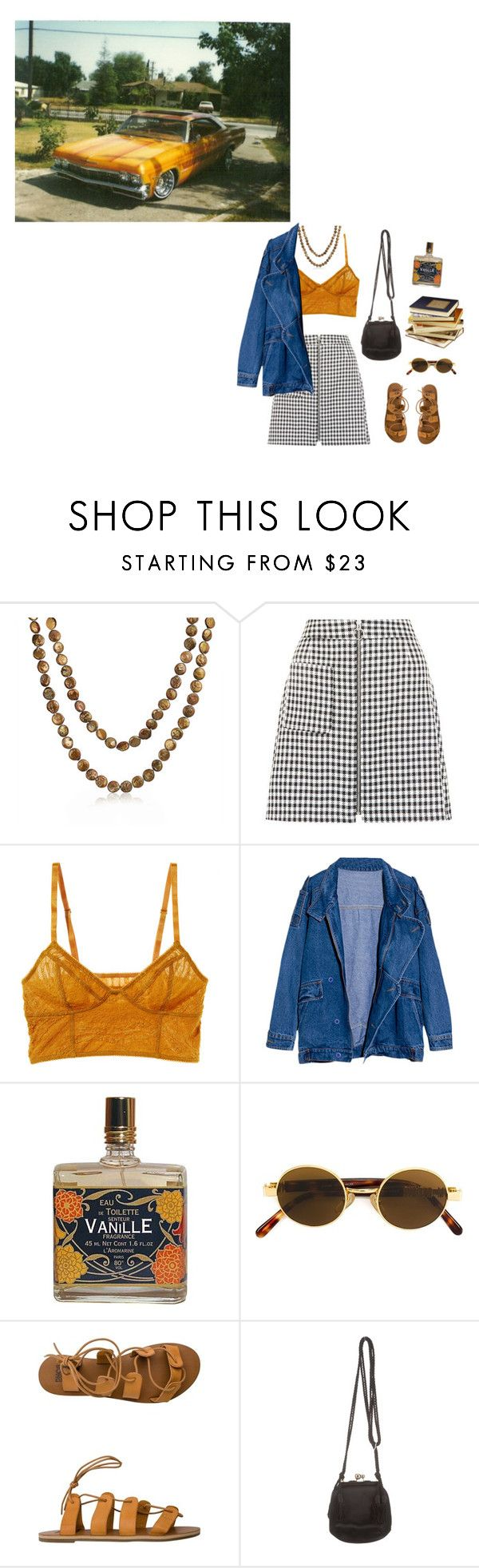 """Times like these"" by ballrooms-of-mars ❤ liked on Polyvore featuring Bling Jewelry, New Look, Intimately Free People, Public Library, Moschino, Billabong and Judith Leiber"