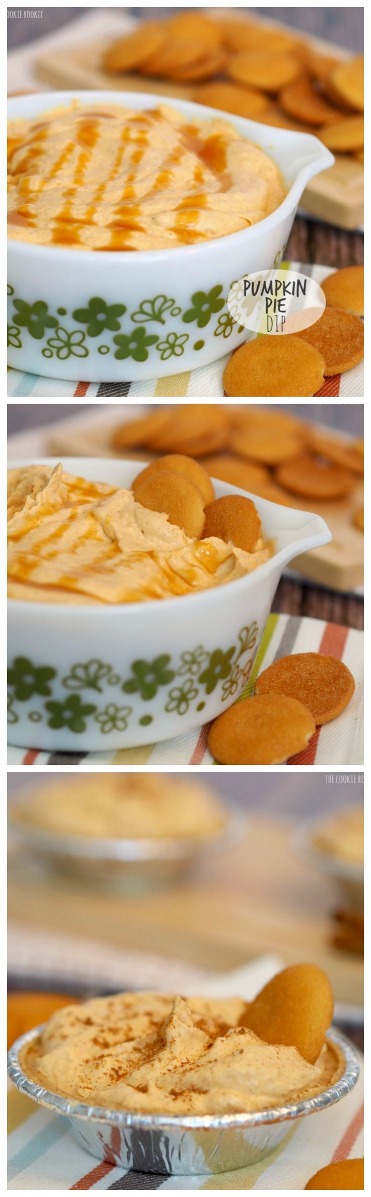 PUMPKIN PIE DIP!!!!! YES! This is the best stuff ever. I could eat it all year! | http://www.thecookierookie.com/pumpkin-pie-dip/ |