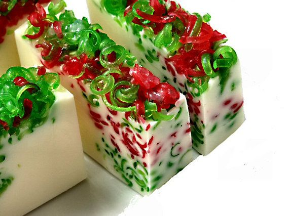 Christmas Soap Bar: