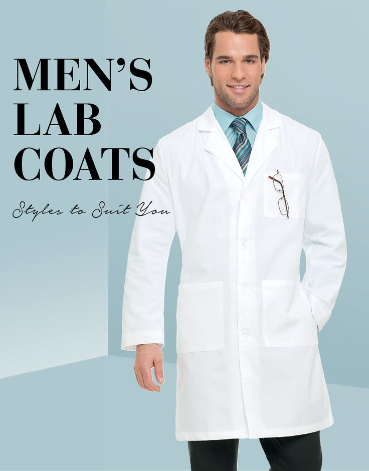 Tailored lab coats for men