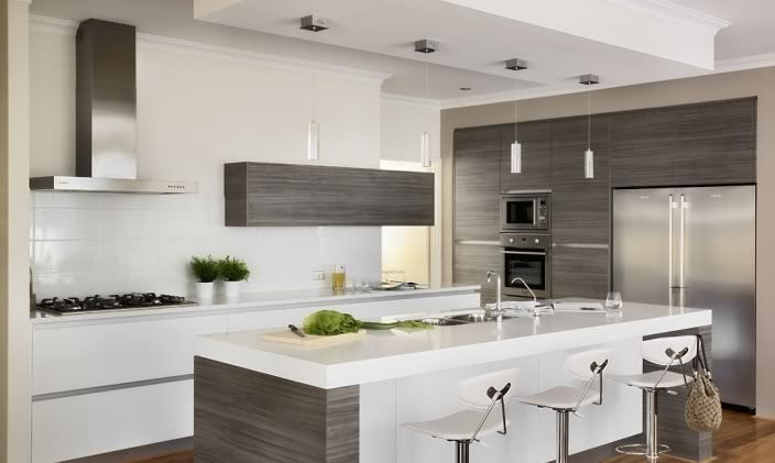 Modern Kitchen Colour Schemes - Google Search