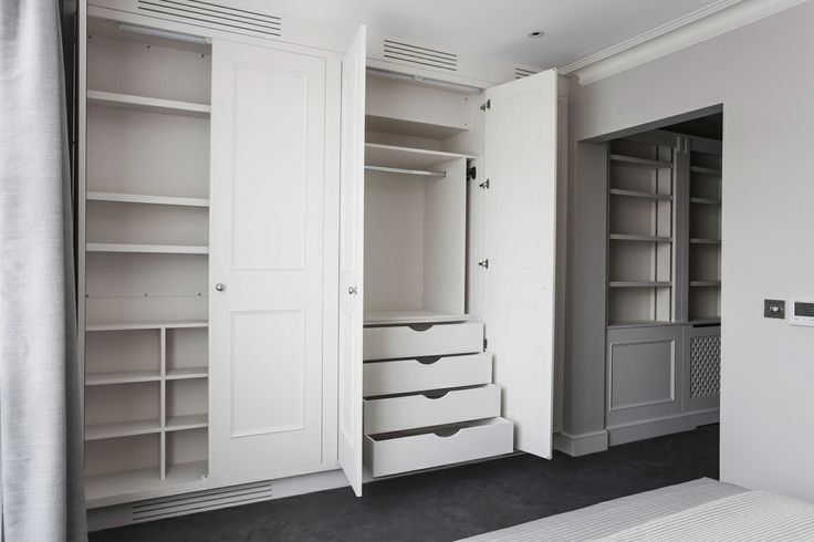 Handmade fitted wardrobes by Burlanes Interiors