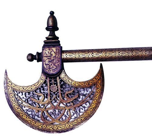 Ottoman battle-ax, 16th century, Istanbul, Museum of Turkish and Islamic Art.