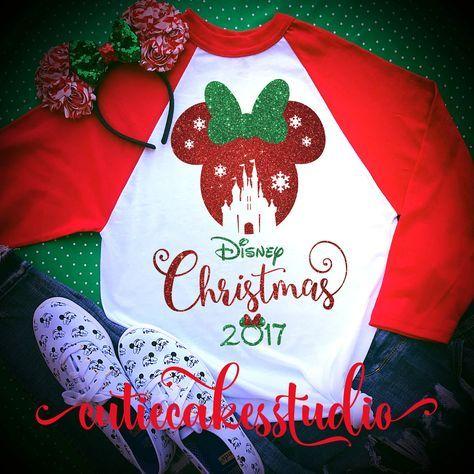 disney shirt - disney Christmas shirt - mickey's very merry Christmas party - disney world shirt - disney vacation t-shirt - disney raglan by Cutiecakesstudio on Etsy