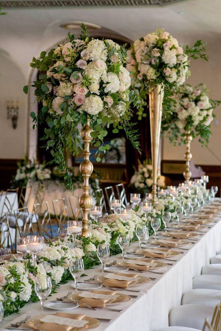 Luxurious Garden Wedding at the Fairmont Banff Springs via Calgary Bride