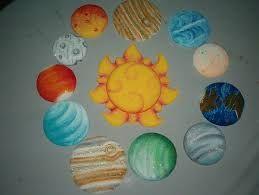 maqueta del sistema solar en foami - Buscar con Google