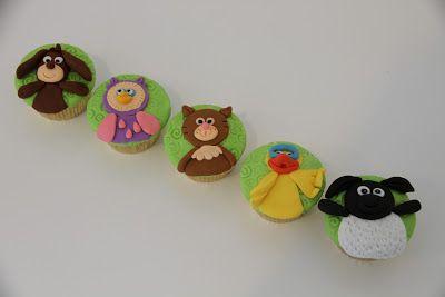 Lapis Surabaya | Kue | Cakes | Cupcakes | Cookies | KoekTaarten: Timmy Time Cupcakes for 6 years old James