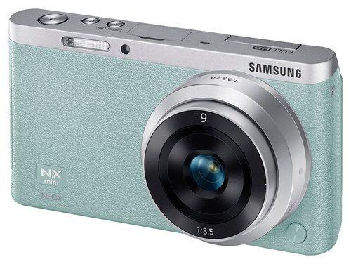 Samsung NX Mini Smart Camera in Mint
