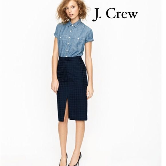 J. Crew Denim Short Sleeve Shirt A fresh take on the denim shirt: the had-it-forever feel of your favorite chambray in a short-sleeve shirt.  Selvedge Japanese chambray. BNWT. Retail not Factory. J. Crew Tops Button Down Shirts