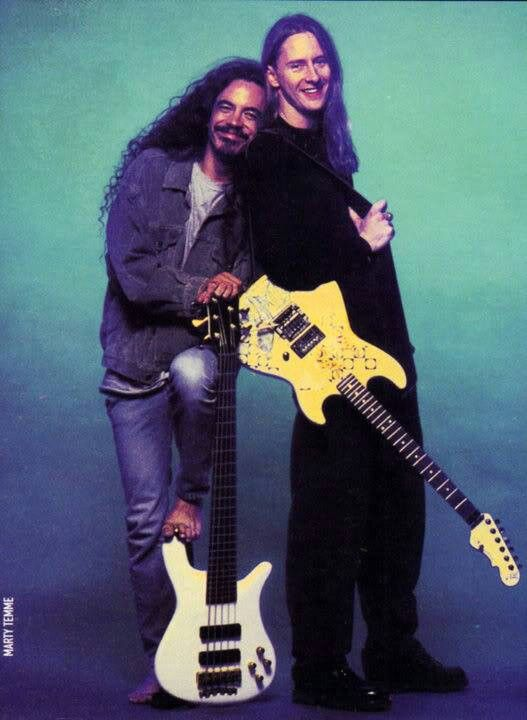 Mike Inez and Jerry