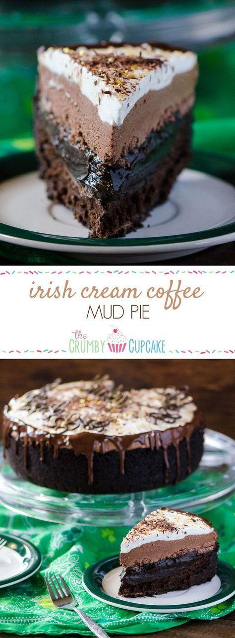 Irish Cream Coffee Mud Pie #SundaySupper