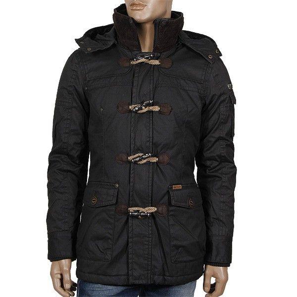 KHUJO Hale with inner Jacket (Plain) Winterjacke Dark Mud aus der neusten Kollektion Winter