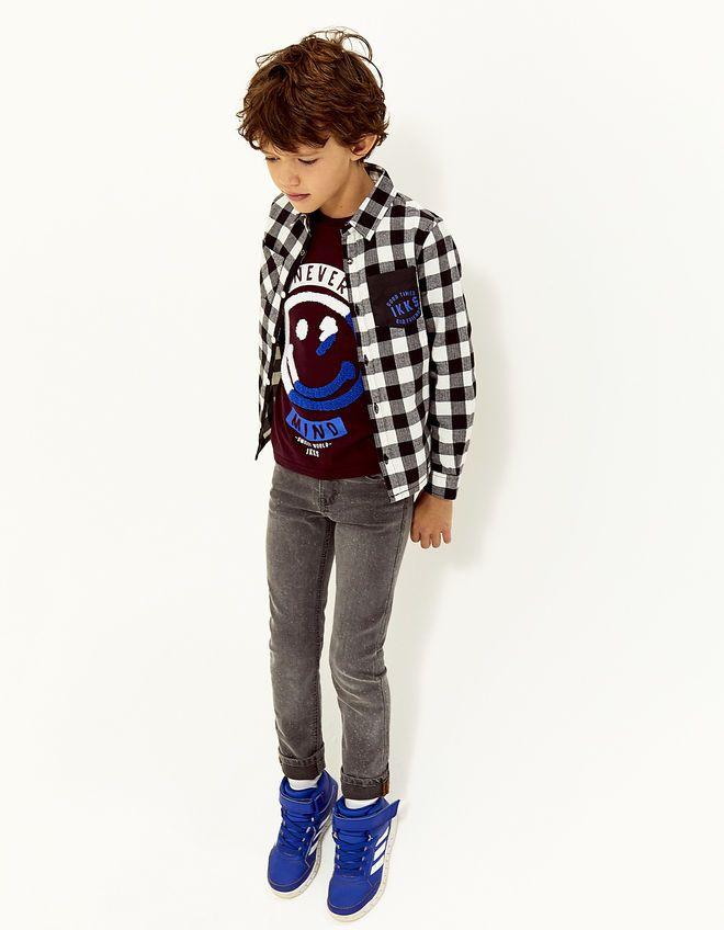 Kinderkleding Jongens.Geruit Overhemd Jongens Ikks Kinderkleding Jongens Mode