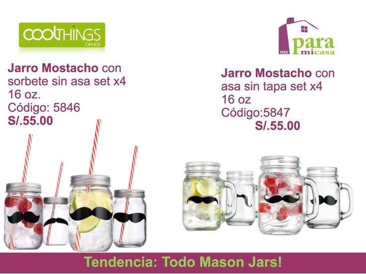 Masón Jars !! paramicasaperu@gmail.com