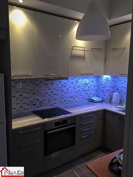 Ολική Ανακαίνιση στο Μετς - Κουζίνα - Φωτισμοί - Ντουλάπια