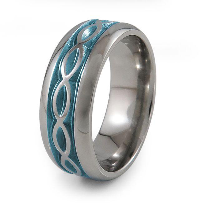 Custom ring created for Tara and Dan