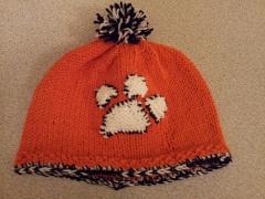 Clemson baby hat: Clemson Baby, Baby Hats