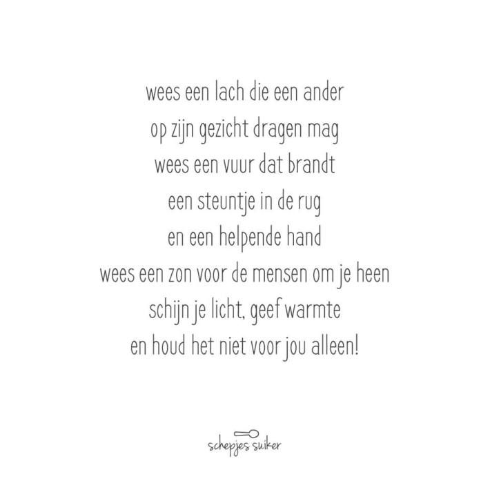 #versjes #gedichtje #lievewoorden #geluk #liefde #lachen #delen #vriendschap #familie