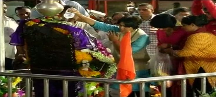 Breaking Centuries Old Tradition, Women Enter Shani Shingnapur