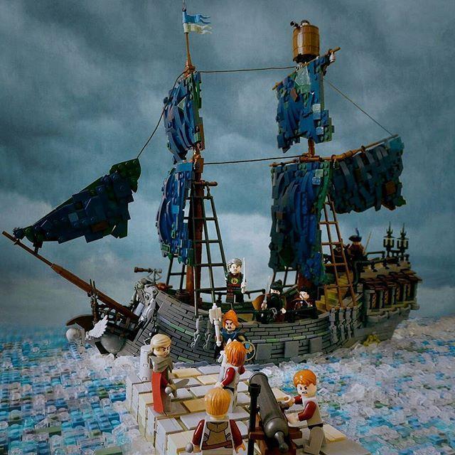 Vi ricordate il vecchio set LEGO Green Grocer? Ora è tornato grazie a una bella e dettagliatissima MOC in versione borgo medievale