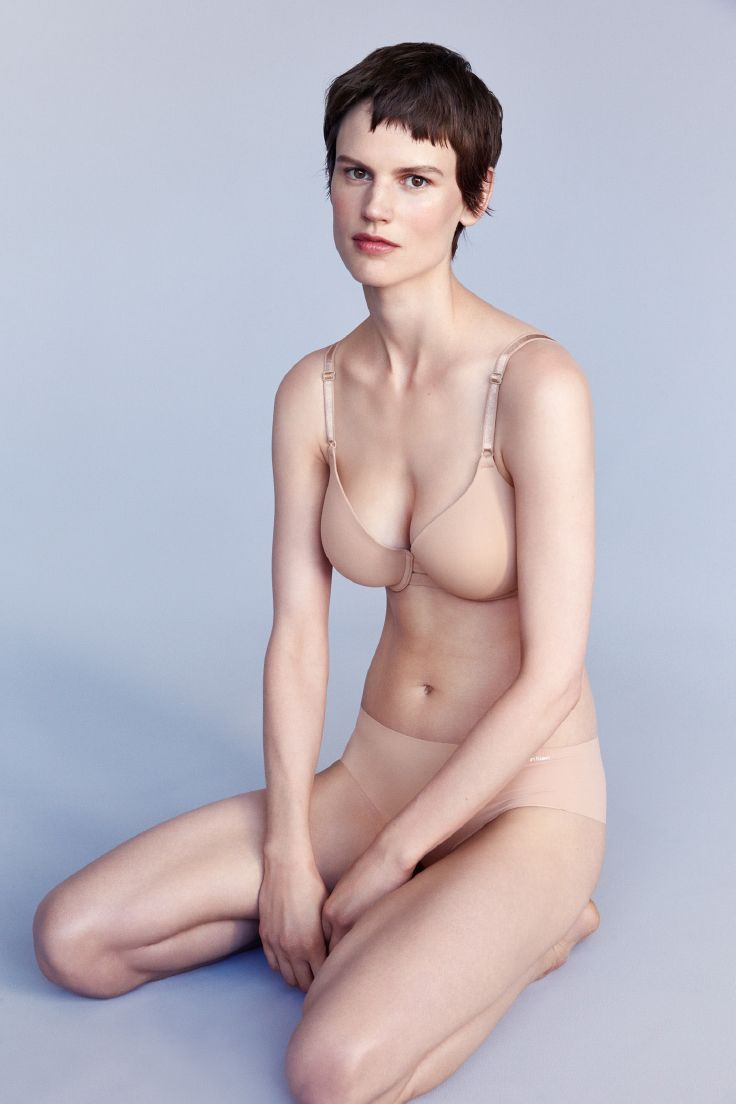 Subtle + sexy. The perfect t-shirt bra that disappears under clothes.