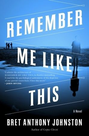 currently obsessed to the point of not being able to read anything else (like the paper, or my email) and do anything other than speed along to see where it ends. good stuff. Remember Me Like This by  Bret Anthony Johnston.
