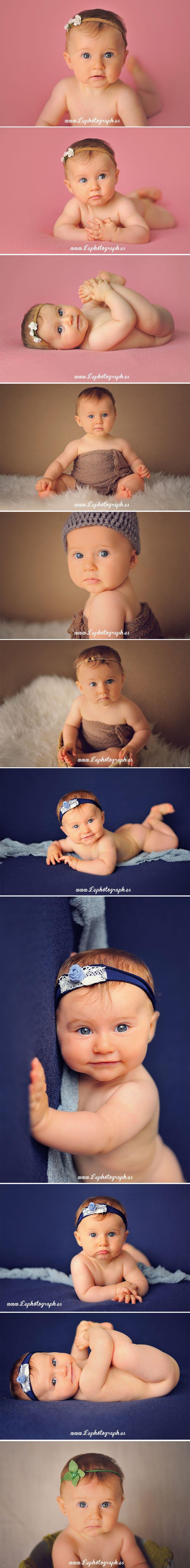 8 meses: Fotografos - Fotografía de bebés en España 8 months: Photographers - Baby photography in Spain