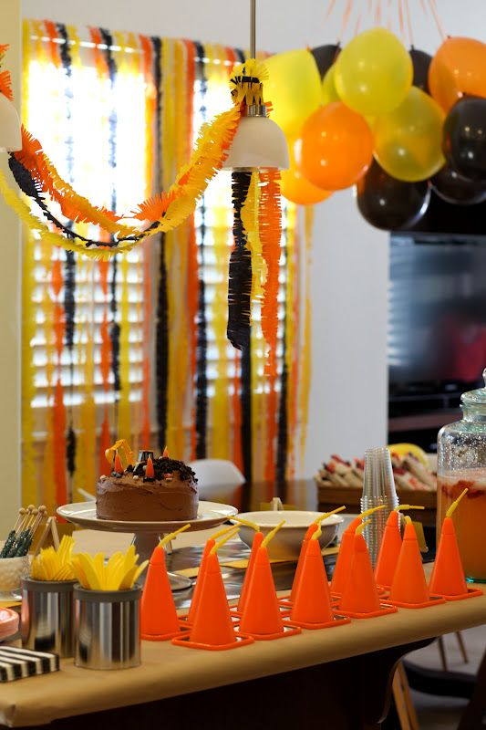 Cameron and Shannon: Weston's 3rd {Construction} Birthday Party