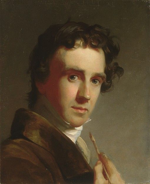 Thomas Sully (American, 1783–1872). Portrait of the Artist, 1821. The Metropolitan Museum of Art, New York. Gift of Mrs. Rosa C. Stanfield, in memory of her father, Henry Robinson, 1894 (94.23.3)