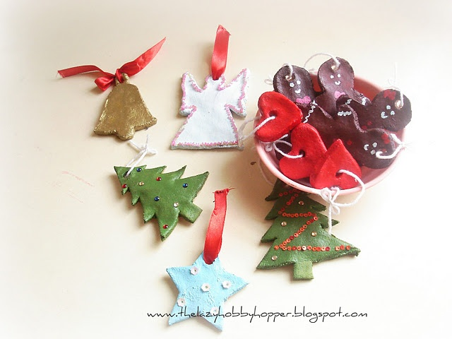 salt dough ornaments. may have to do this year wi…