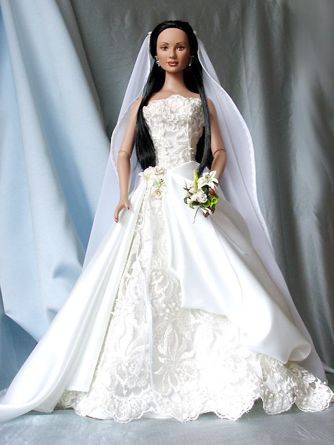 631 besten Wedding Barbies Bilder auf Pinterest | Modepuppen, Barbie ...
