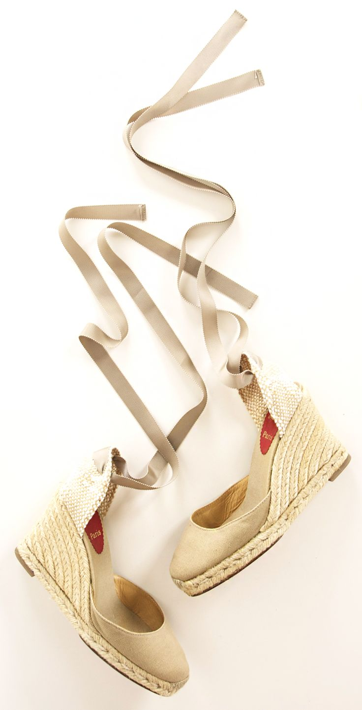 CHRISTIAN LOUBOUTIN HEELS @SHOP-HERS.... Of course they r Christian