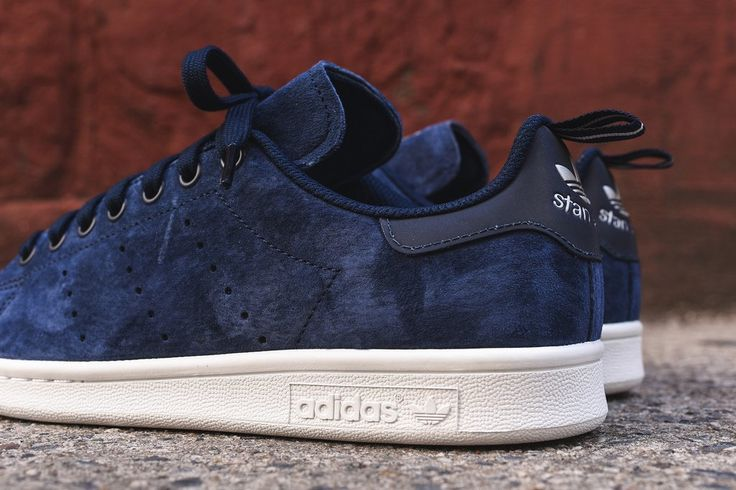 adidas Originals Comes up With a Sleek Tuxedo-Inspired Stan Smith |  Original stan smith, Stan smith and White sneakers