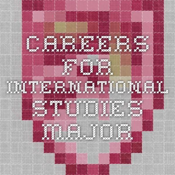 International Studies | University Career Center