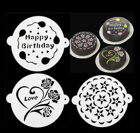 带耳玫瑰花蛋糕喷花模板 糖粉筛模 8寸提拉米苏印花模具 3件套-淘宝网