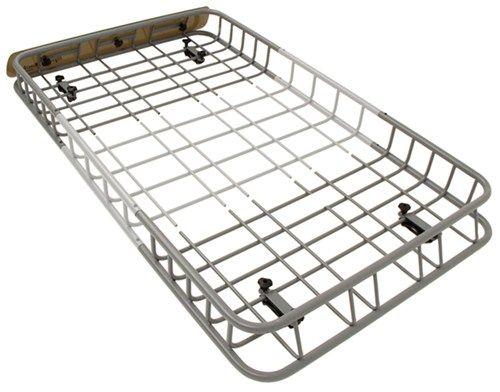 sportrack vista roof mounted cargo basket - steel - 44 u0026quot  long x 39-1  8 u0026quot  wide