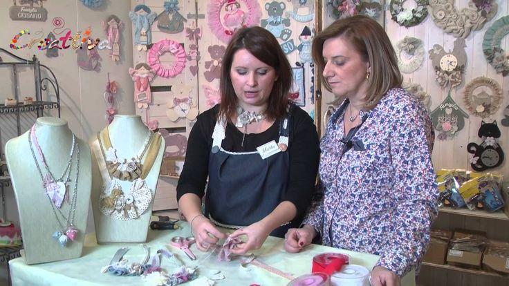 VIDEO #creattivaChannel Collane Vintage con Marta Zanzottera
