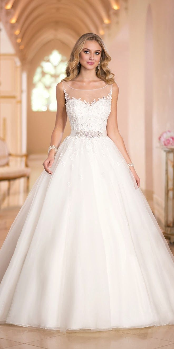Stella York Fall 2014 - Belle the Magazine . The Wedding Blog For The Sophisticated Bride