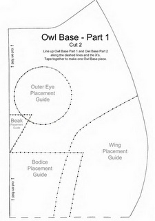 THis owl pattern no longer exists