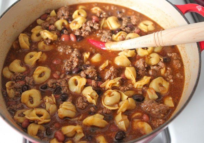 Chili Tortellini by Picky Palate