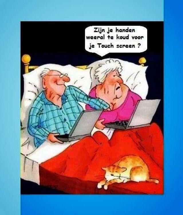SeniorenNet - Grappig of Schattig - koude handjes... SeniorenNet - de startpagina voor senioren: de actieve 50-plussers