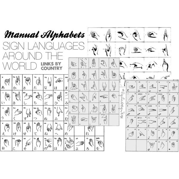 INTERNATIONAL #MANUAL #SIGN #LANGUAGE ALPHABETS: photo database links listed by country via site in #German. #Vintage, #antique -perhaps original- illustrations of each country's #alphabets including around fifty countries' alphabets and noting the earliest manual alphabet found to be from the years 1520 to 1580s. photo #byaudreyterp