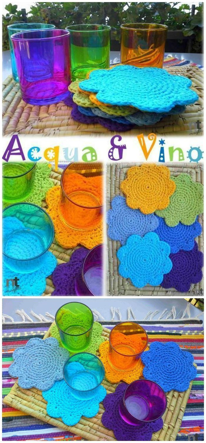 70 Easy Free Crochet Coaster Patterns For Beginners Crocheted