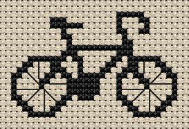 Free Sampler Patterns - bicycle