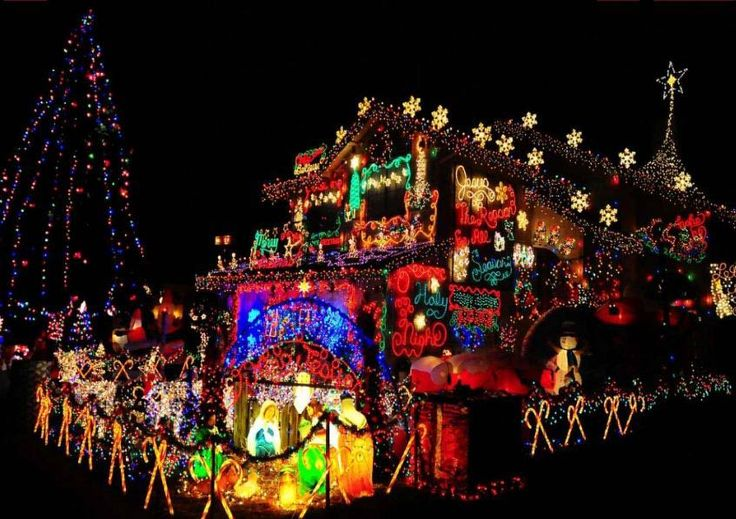 christmas light display in california | ... Christmas Lights? | Best Outdoor Christmas and Holiday Light Displays