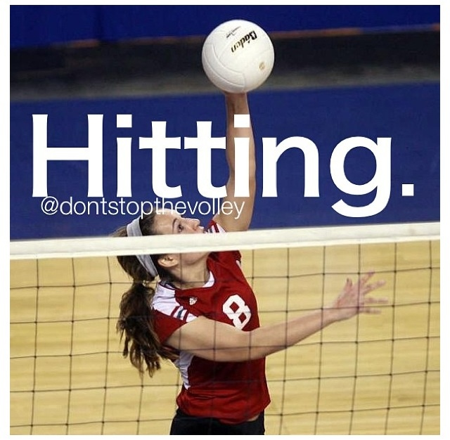 Quotes For Hitters Volleyball. QuotesGram