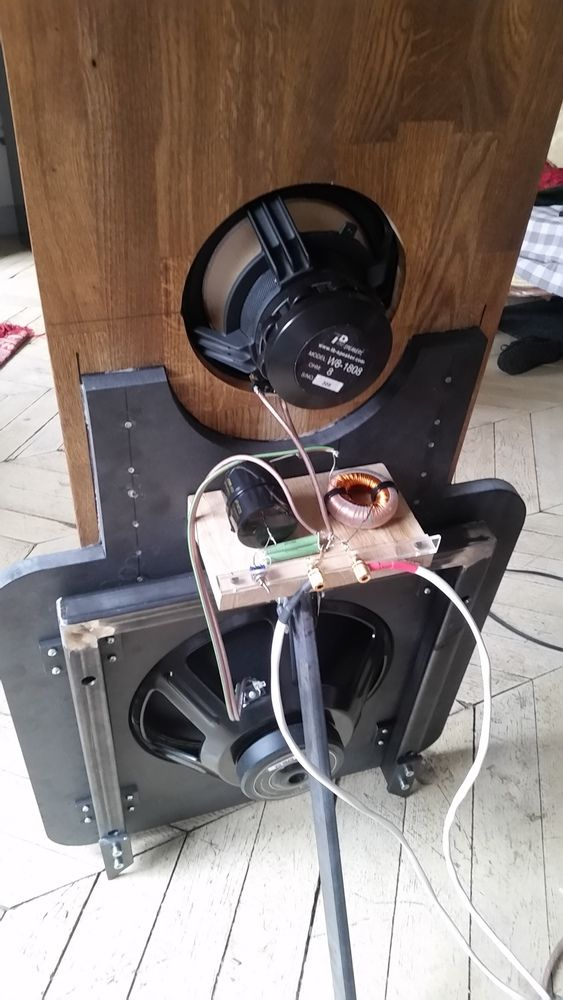 Pin Di Annesjoerd Devlugt Su Open Baffle Speakers Nel 2020