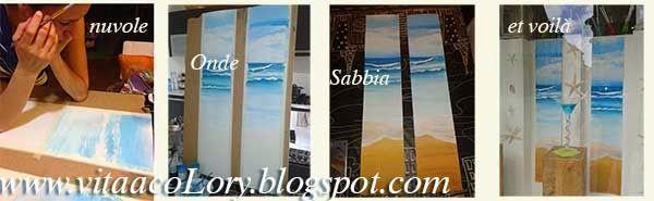 vita a coLORY: Dipingere il mare